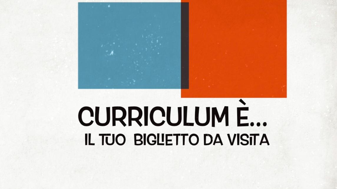 Come scrivere un curriculum vitae perfetto: evento via web
